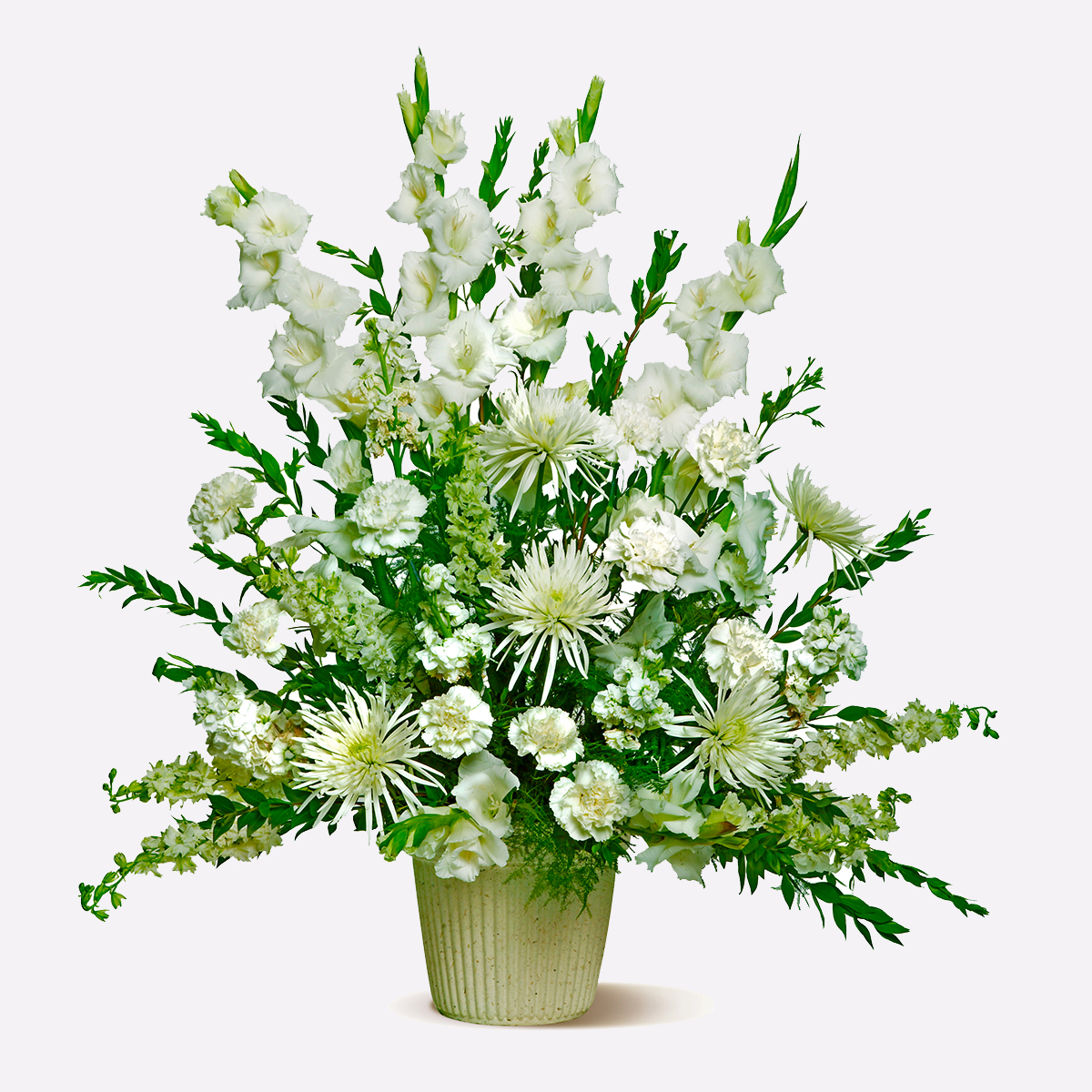 Pure Whites Floral Arrangement